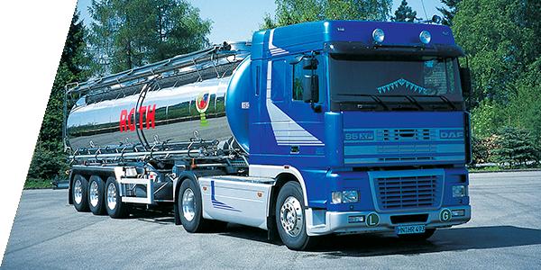 Roth alter Transporter - Logistik Dienstleistungen damas und heute