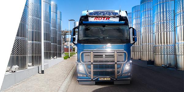 Roth Transporter Silos - Zugmaschinen