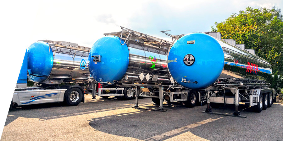 Roth Spedition Auflieger - Vermietung von Transportern für flüssige Lebensmittel